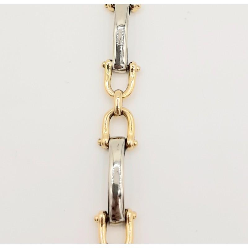 Bracelet Or Jaune, Or Blanc