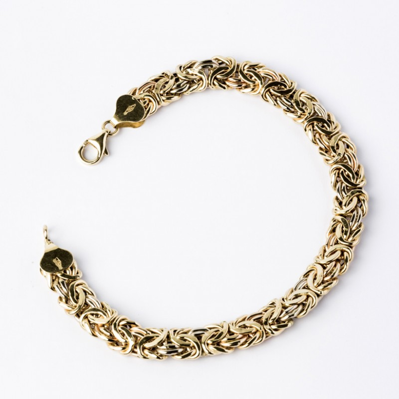 Bracelet Or 750 Maille Royale