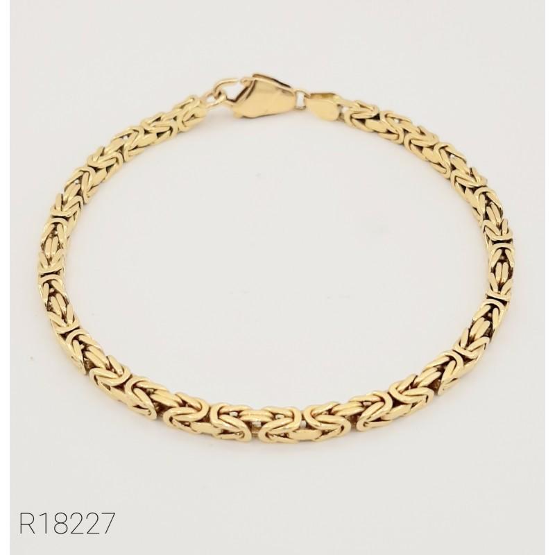 Bracelet Maille Royale Or...