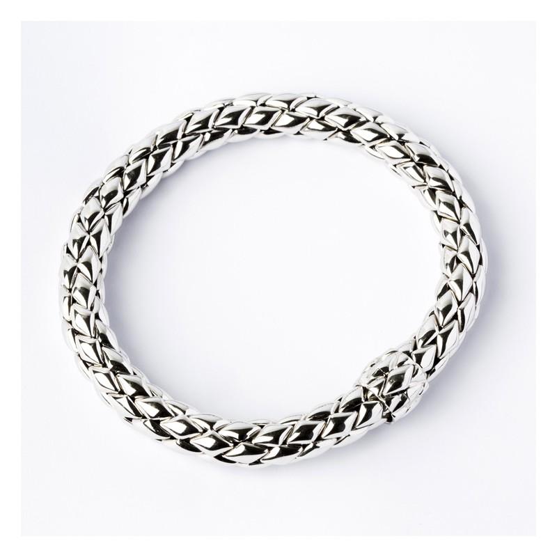 Bracelet Or Blanc 750