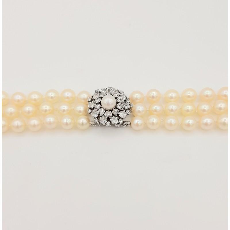 Collier Perles de Cultures...