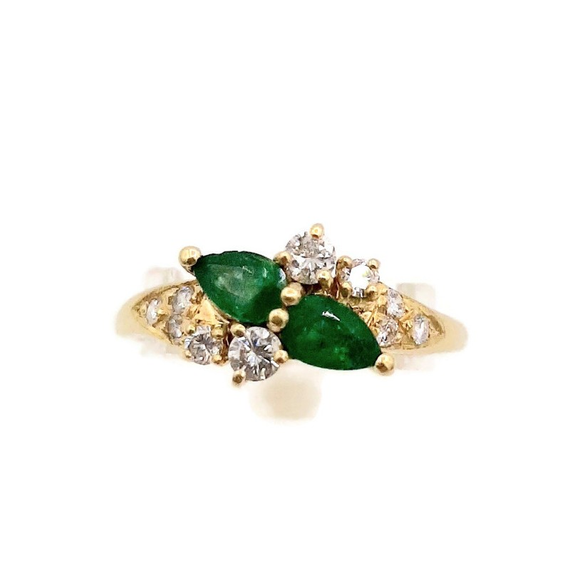 Bague Emeraudes & Diamants...