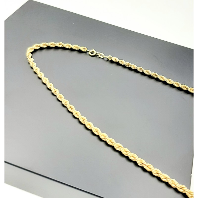 Collier Maille Corde OR...