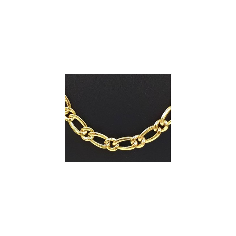 Collier Maille ovale or 750