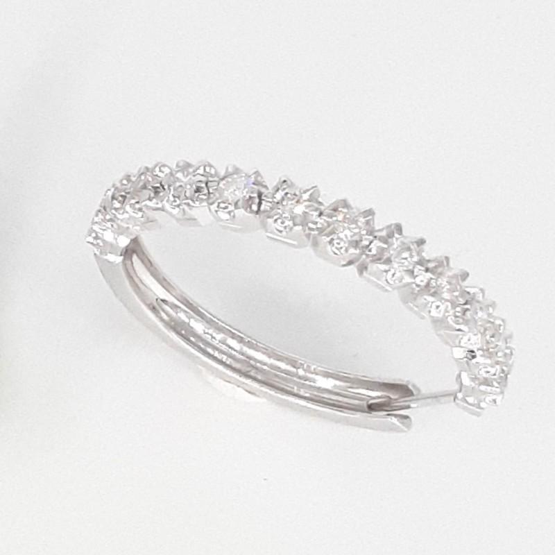 Boucles d'oreille 24 Diamants