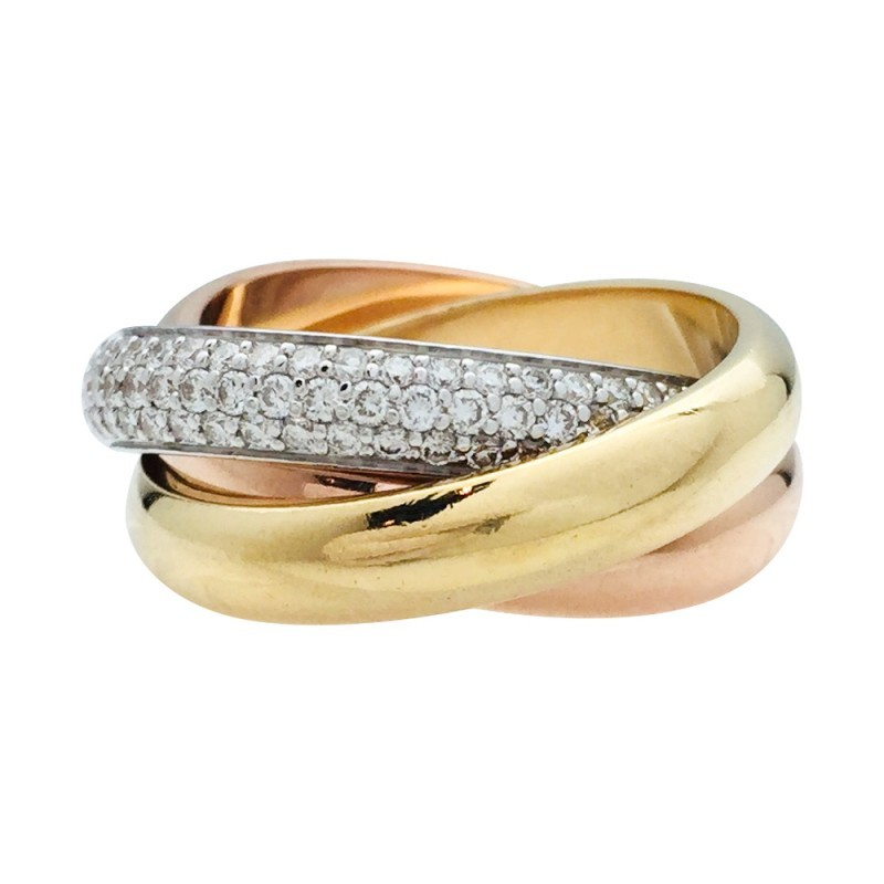 Bague Cartier Trinity GM...