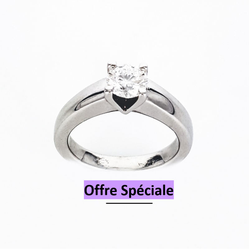 Bague Solitaire 0.5 ct or...