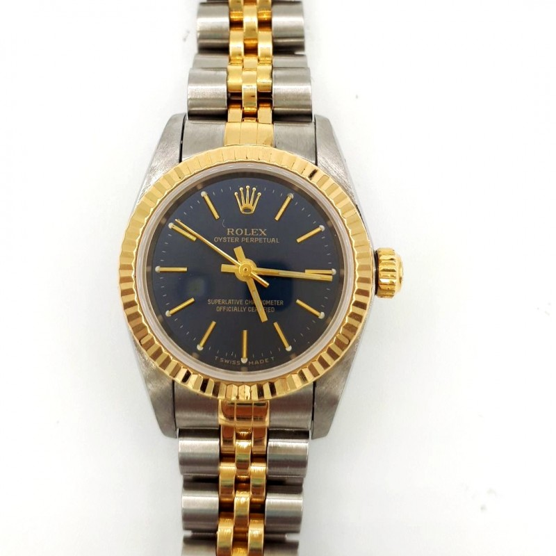 Montre Rolex Lady blue