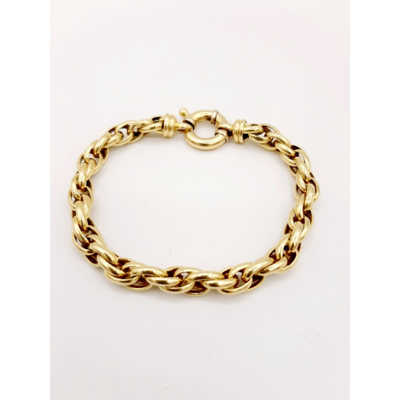 Bracelet Maille forçat or...