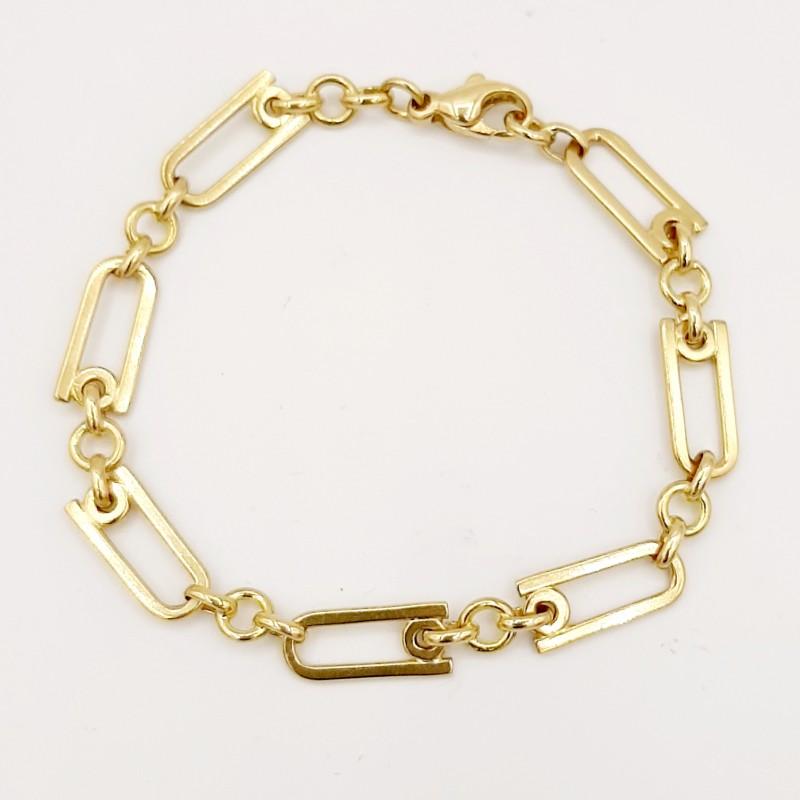 Bracelet Maille allternée...