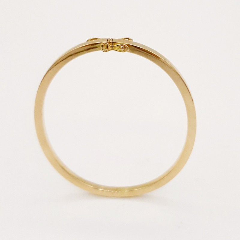 Bracelet jonc or 18K