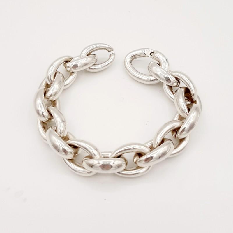 Collier, bracelet Argent