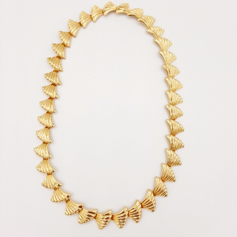 Collier Or Jaune 18 K
