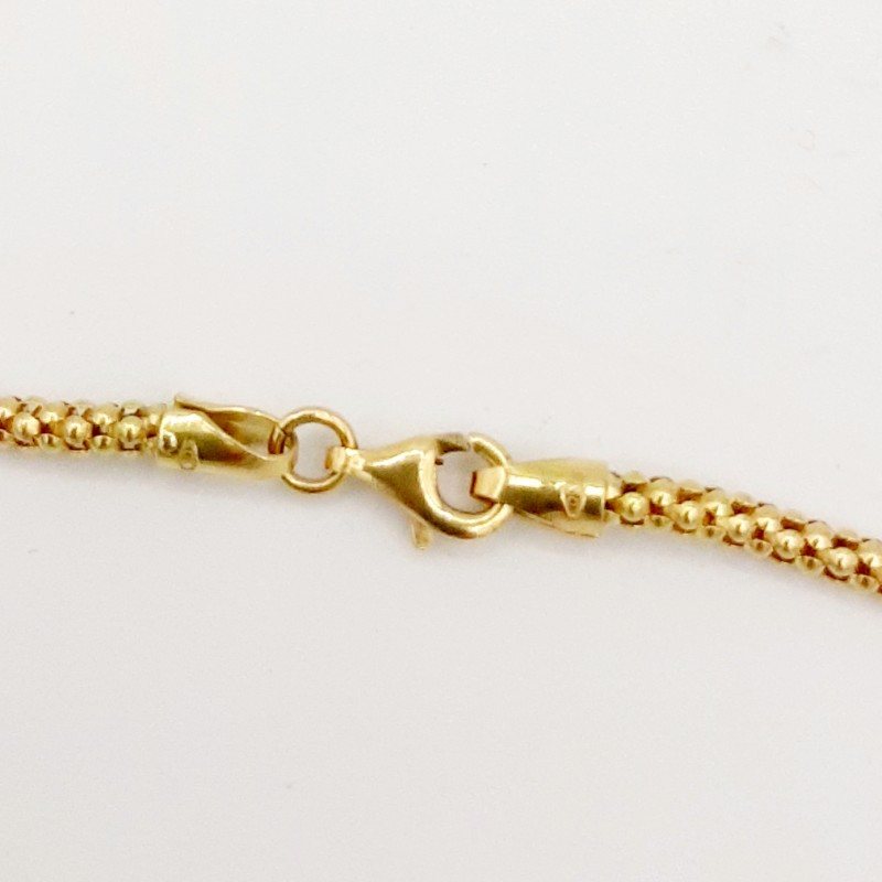 Collier Maille Torsade Or...