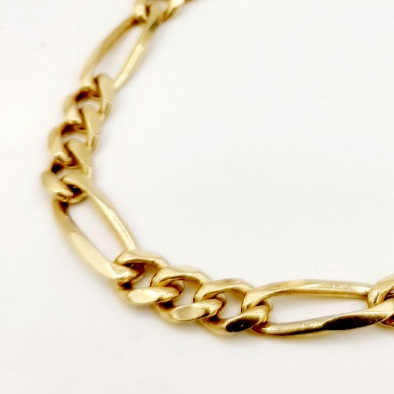 Bracelet Maille cheval alterné