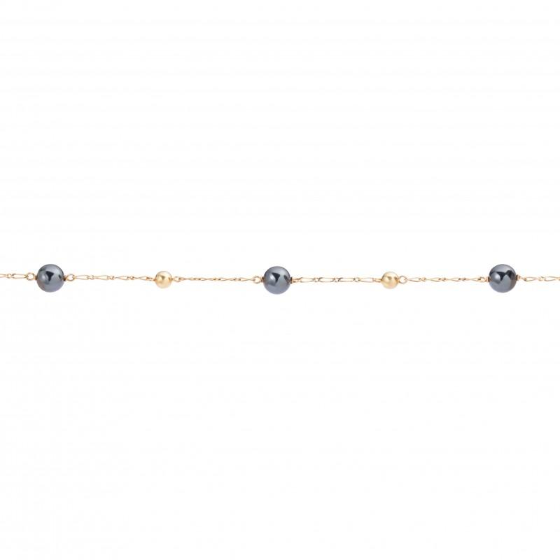 Bracelet Or Jaune 18K et...