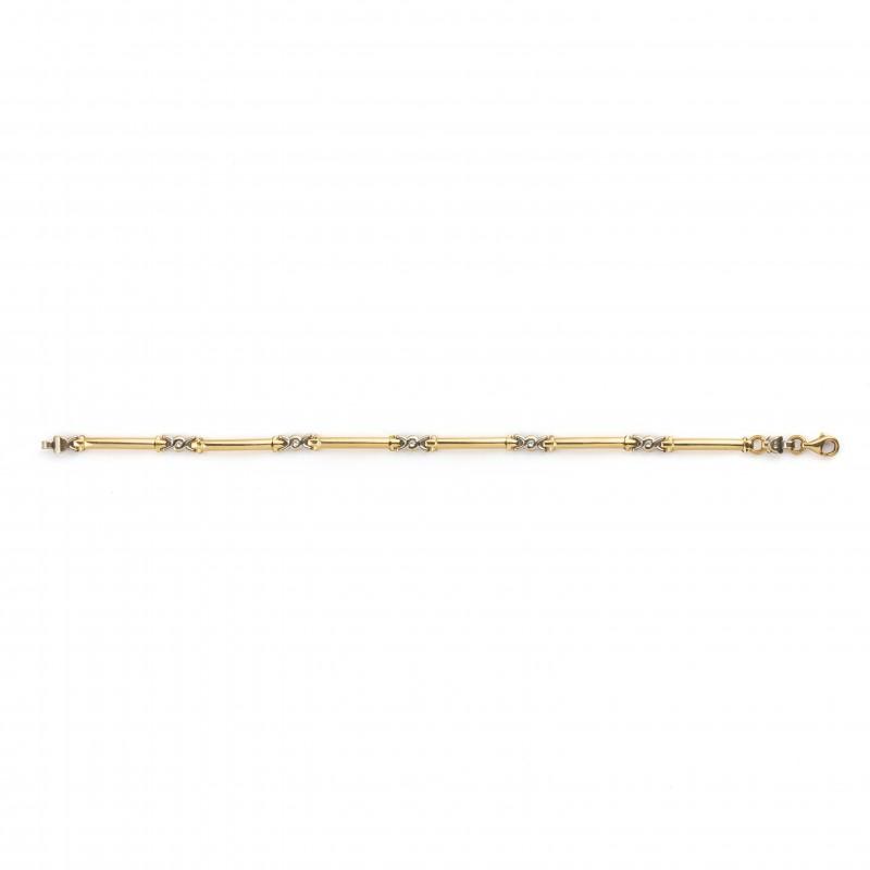 Bracelet 2 Tons d'Or 18 K