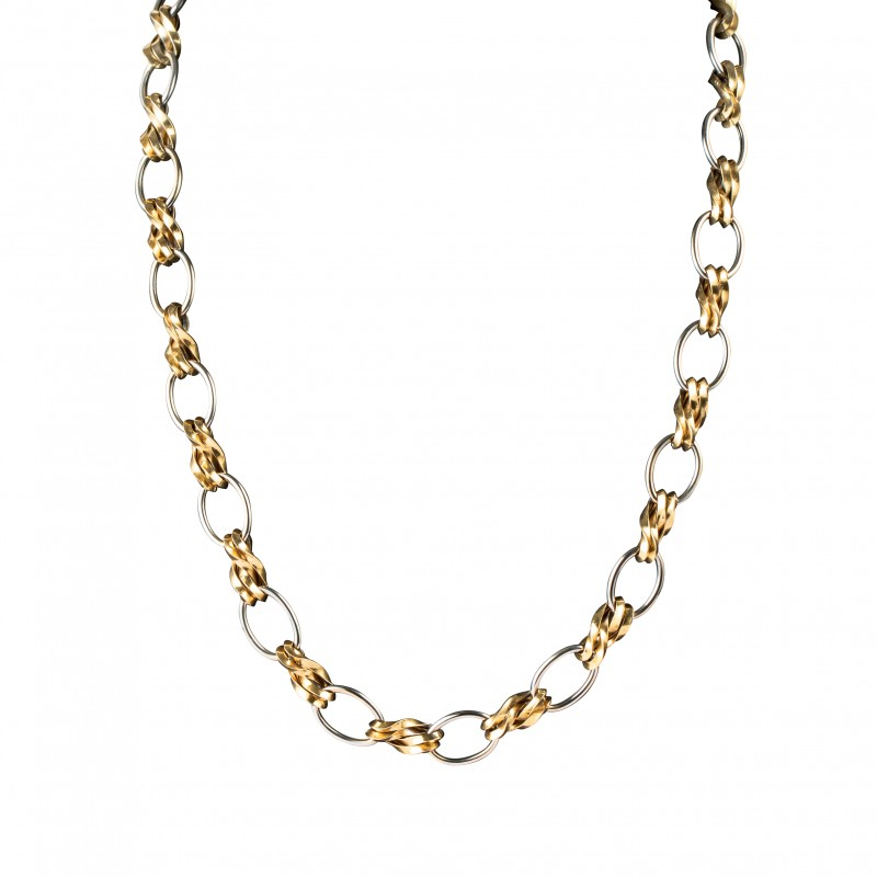 Collier 2 Tons D'Or 18K