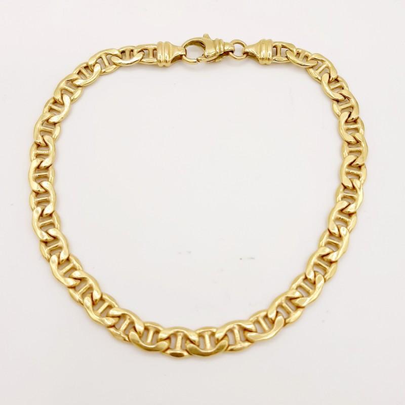 Bracelet Maille Marine Or...