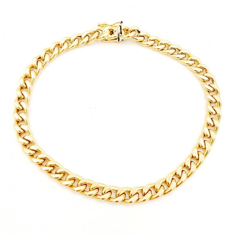 Bracelet Or Jaune Maille...
