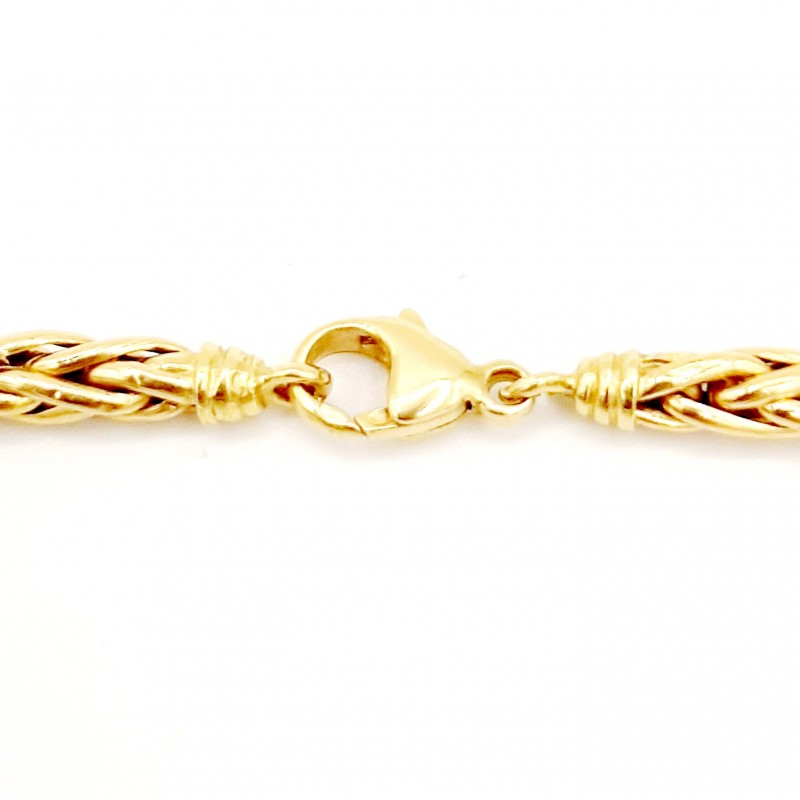 Collier Maille Palmier Or...