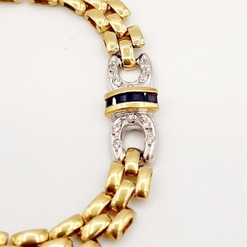 Bracelet Or Jaune Diamants...