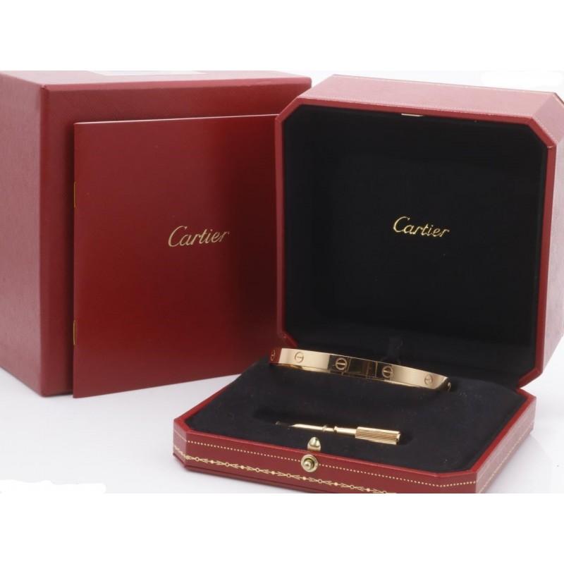 Bracelet Cartier Love Or Jaune