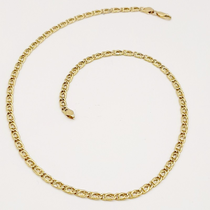 Collier Maille ovale...