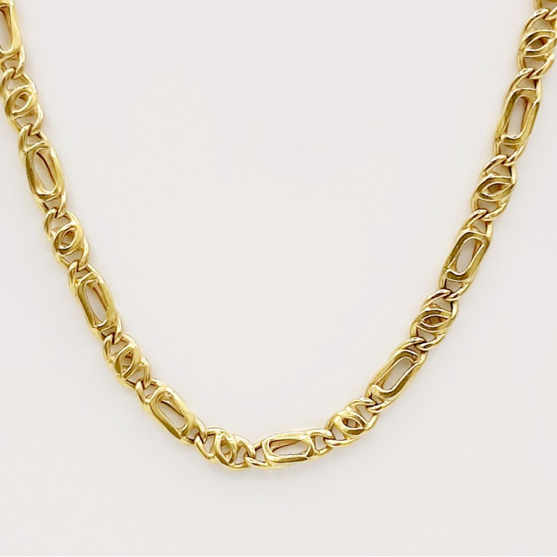 Collier Maille Figaro 18 K