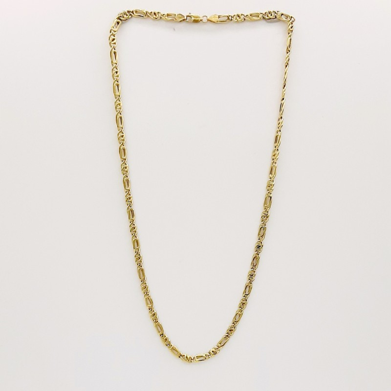 Collier maille figaro