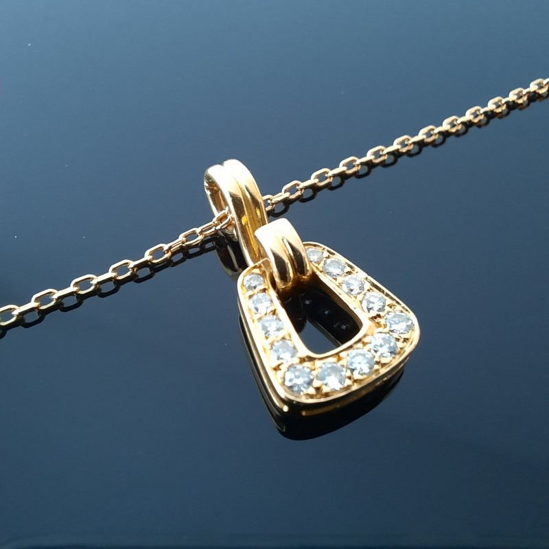 Collier Or Pendentif Diamants