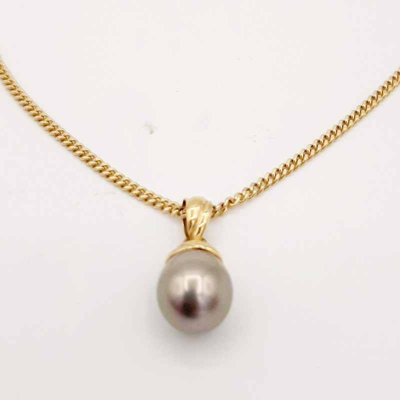 Chaine et pendentif perle...