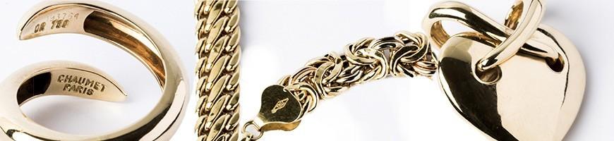 Bijoux en Or Occasion : Bague, Bracelet, Collier, Boucles d'oreilles